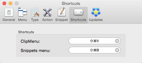 ClipMenu - Shortcut