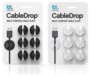 Bluelounge - Pinzas para sujetar cables