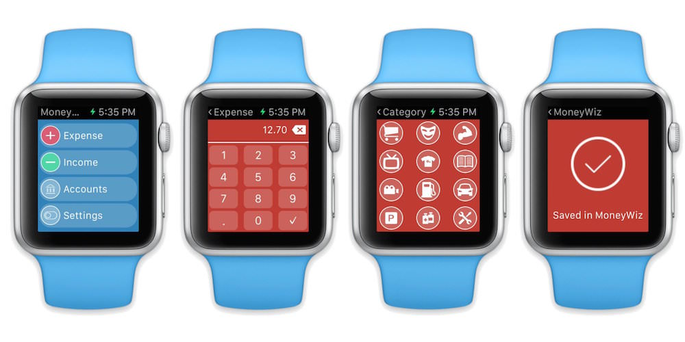 MoneyWiz Apple Watch