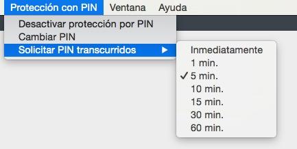 cambiar PIN