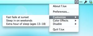 f.lux preferencias rápidas 01 - customize