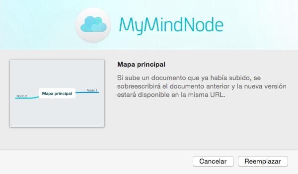 Subir mapa mental a MindNode