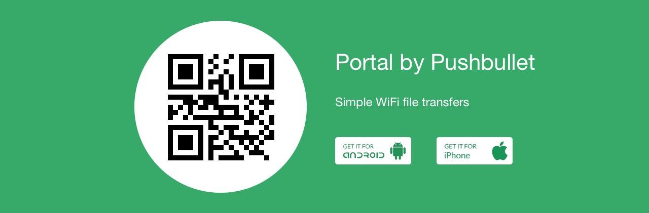 Código QR en Portal